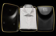 Just what I need. A case for my shirts for when I need to arrive not looking like I got run over by a parade of rocks.