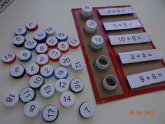Addition and substraction game