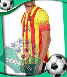 1b842a3e09edf Camiseta M C Nike Barcelona 2da Equipación 2013 14 Producto Original Talla  M L XL Precio   89.900
