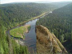 река Урал, Россия