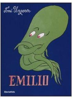 Emile: The Helpful Octopus by Tomi Ungerer Childrens Book Shelves, Childrens Books, Kraken, Got Books, Children's Book Illustration, Vintage Books, Book Recommendations, Octopus, Book Art