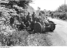 3.7cm Pak 36, Belgium, May 1940. This was the standard Heer (Army) anti-tank gun (Panzerabwehrkanone) in the 1939 & 1940 campaigns. It was often unable to penetrate Allied armour & was gradually replaced by the 5cm Pak 38