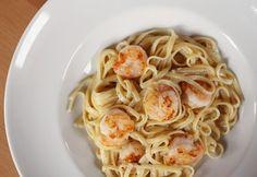 Crispy Shrimp Pasta | eatbakelove