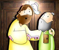 Señor mío y Dios mío, Tú abres las puertas de mi alma. Jn 20, 19-31