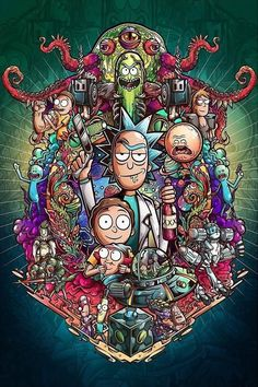 Rick And Morty Morty Rick Rickandmorty pertaining to Rick And Morty Crazy Wallpaper - All Cartoon Wallpapers Rick And Morty Crossover, Graffiti, Wallpaper, Graffiti Wallpaper, Anime, Cartoon Wallpaper, Trippy Wallpaper, Cartoon, Crazy Wallpaper