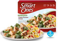 Creamy Parmesan Chicken - Weight Watchers® Smart Ones®  210 calories per meal