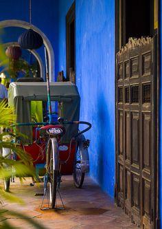 Bicycle Rickshaw - George Town, Penang, Malaysia