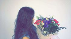 #girl #tumblr #snapchat #photo #flowers #gift #boyfriend #CoupleGoals #couple #happy #pretty