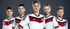 Die Mannschaft's new kit. I don't hate it... I don't love it.... I think it'll grow on me tho.