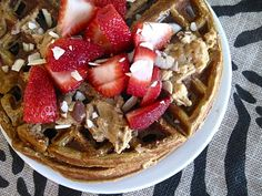 125 Calories & 12 Grams of Protein: Pumpkin Waffles!