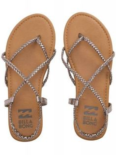 4e80068ad Billabong - Crossing Over Braided Strappy Sandals