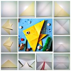 One Fish Two Fish Dr Seuss Special Origami Fish