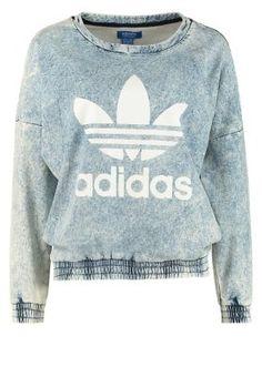 Köp adidas Originals Sweatshirt - blå för 749,00 kr (2014-09-21) fraktfritt på Zalando.se
