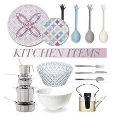 """Kitchen Items"" by lovethesign-eu ❤ liked on Polyvore featuring interior, interiors, interior design, home, home decor, interior decorating, Propaganda, Covo, Koziol and kitchen"