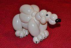 My Daily Balloon: 9th February - Polar Bear - www.mydailyballoon.com