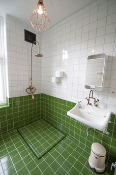 Green shower tile bathroom tile design ideas tiles for floor showers