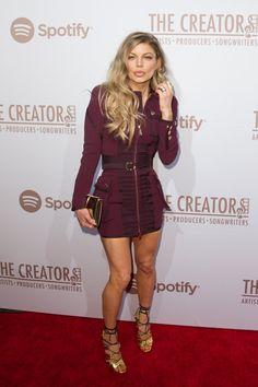 Pin for Later: Les Stars de la Musique S'éclatent à L'approche des Grammy Awards Fergie