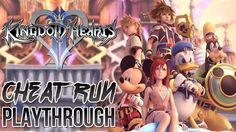 Kingdom Hearts 2 Final Mix Cheat Run Full Playthrough