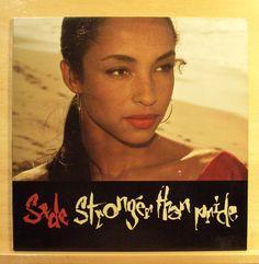 SADE - Stronger than Pride - mint minus - Vinyl LP - OIS most near mint Top Rare