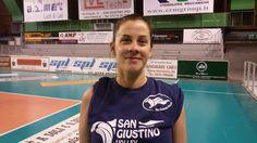 """Silvia Tosti, San Giustino Volley: """"La vittoria contro Orvieto? Siamo sempre piu' squadra!"""