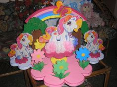 "Chupetera para fiesta ""pony"""