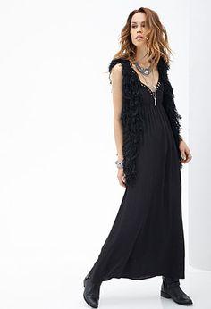 Cutout Maxi Cami Dress | FOREVER 21 - 2000130037