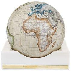 Bellerby Coliseum Mini Desk Globe ($2,610) ❤ liked on Polyvore featuring home, home decor, handmade home decor, miniature globe and mini globe