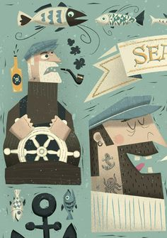 Sea Ways by Peter Donnelly, via Behance