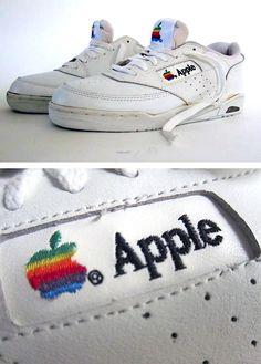 Vintage Apple Sneakers