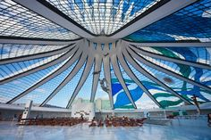 CATHEDRAL OF BRASILIA   BRASILIA, BRAZIL - Churches, Synagogues, Mosques and Temples with Amazing Architecture : Architectural Digest