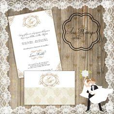 Convite Casamento ou 15 anos