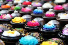 Thaise zeepbloemen