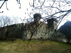 Chateau d'Ussel, Valle d'Aosta, Italy