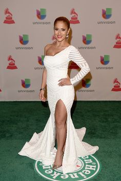 Jackie Guerrido Photos Photos - Journalist Jackie Guerrido attends the 15th Annual Latin GRAMMY Awards at the MGM Grand Garden Arena on November 20, 2014 in Las Vegas, Nevada. - Green Carpet Arrivals at the Latin Grammy Awards  — Part 2