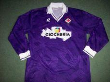 108fbe93c05 1991 1992 Fiorentina L s Home Football Shirt Adults XL Top Maglia Italy  Classic Football