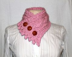 Fishermans Wife Cowl Made to Order Cable Knit by Oceanlvrcrafts