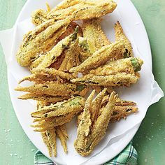 Smashed Fried Okra - 12 Best Okra Recipes - Southern Living