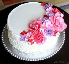 Cupcake: Pink & Purple!