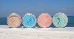 SPRING  4 all natural mineral eyeshadows by SummerScentSations, $12.00