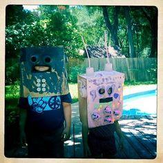 paper bag robots