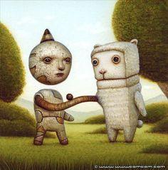 Twisting Reality - surrealism by Naoto Hattori