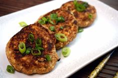 Ponzu Tuna Cakes   Japanese Cooking Recipes, Ingredients, Cookware