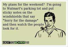 #WALMART ...evil lol