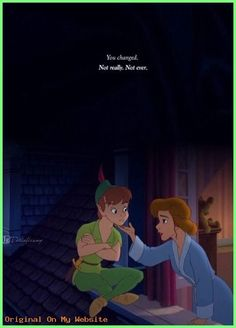 Peter Pan Return to Neverland Cute Disney Wallpaper, Wallpaper Iphone Disney, Cute Cartoon Wallpapers, Trendy Wallpaper, Arte Disney, Disney Magic, Disney Art, Peter Pan And Tinkerbell, Peter Pan Disney