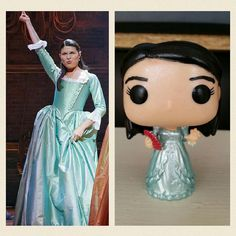 This is a 100% hand painted CGOrtiz Customs Funko Pop Exclusive of Eliza Schuyler-Hamilton from the broadway smash hit Hamilton. All figures come signed, in a plastic Pop protector, with the CGOrtiz Customs Exclusive sticker (Unless Stated Otherwise)