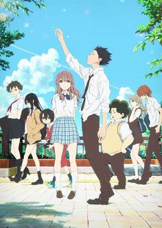 A Silent Voice (Koe No Katachi) - This movie hit me so hard. Such a beautifully made anime ❤️