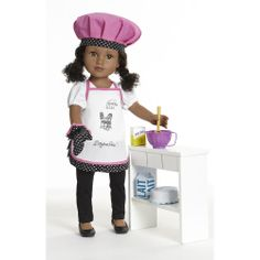 "Journey Girls 18 inch Doll Fashion Sets Paris - Chef - Toys R Us - Toys ""R"" Us"