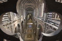 """The Cathedral of Siena is opening – for the first time to the public – its """"Gateway to Heaven"""" (Porta del cielo) at the very summit of the church"""