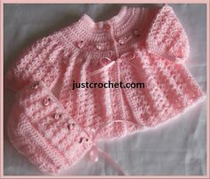 Ravelry: Baby crochet pattern JC35B pattern by Justcrochet Designs