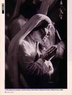 Mother Teresa 1997 | Bamboo Trading: Mother Teresa 1997 Magazine Photo, Personal Hygiene ...